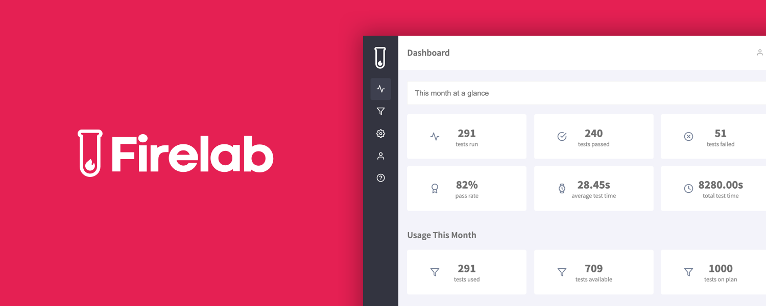 Firelab is On Product Hunt (no code automated testing)