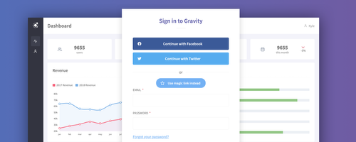 Gravity 7.0 Beta With Social Logins Now Available